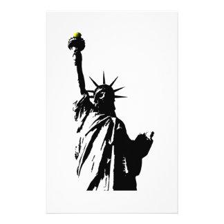 Statue Of Liberty #2 Stationery