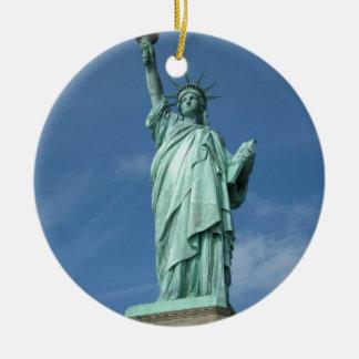 Statue of Liberty 3 Ceramic Ornament