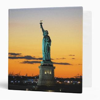 Statue of Liberty 3 Ring Binder