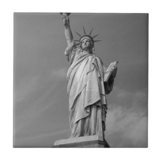 Statue of Liberty 3 Small Square Tile