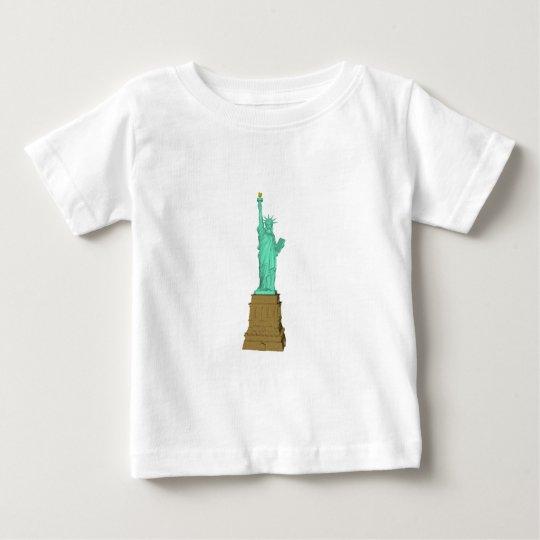 Statue of Liberty: 3D Model: Baby T-Shirt