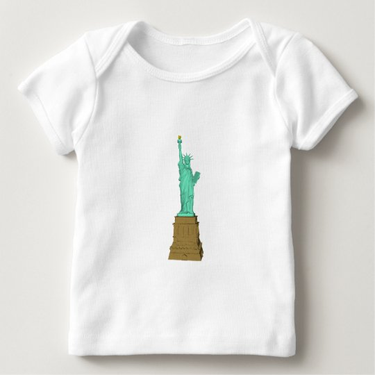 Statue of Liberty: 3D Model: Baby T-Shirt