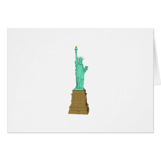 Statue of Liberty: 3D Model: Card