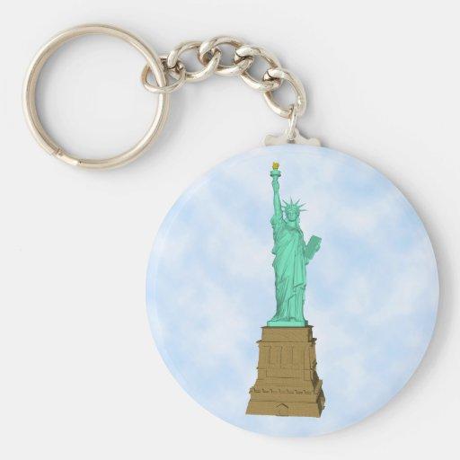 Statue of Liberty: 3D Model: Keychain