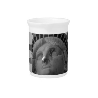 Statue of Liberty 4 Beverage Pitcher