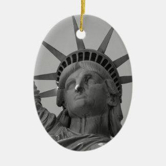 Statue of Liberty 4 Ceramic Ornament
