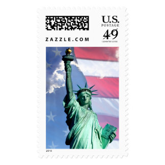 Statue Of Liberty 4th Of July Celebration Postage