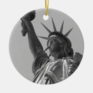 Statue of Liberty 5 Ceramic Ornament