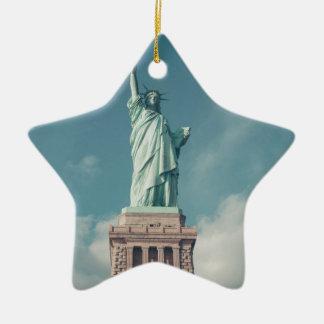 Statue of Liberty 6 Ceramic Ornament