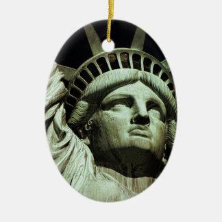 Statue of Liberty 8 Ceramic Ornament
