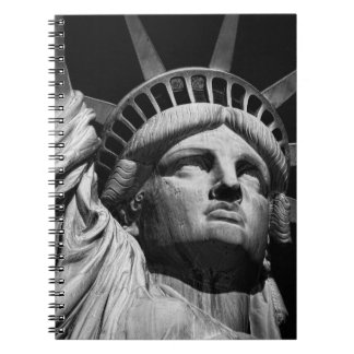 Statue of Liberty 8 Spiral Notebook