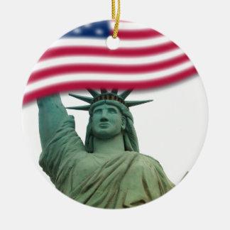 Statue of Liberty 9 Ceramic Ornament
