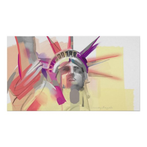 Statue of Liberty Afdruk