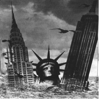 STATUE OF LIBERTY AND EMPIRE STATE BUILDING