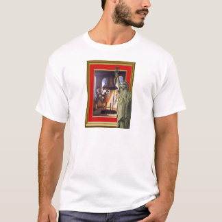 statue of liberty and liberty bell T-Shirt