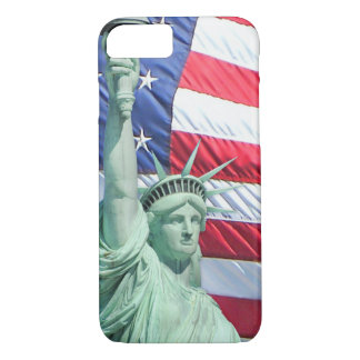 Statue of Liberty and U.S. Flag iPhone 7 Case