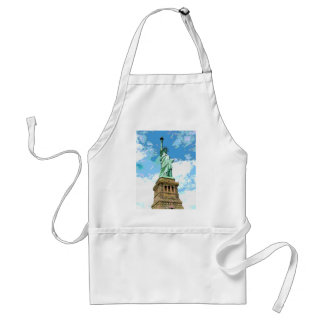 Statue of Liberty Adult Apron