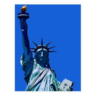 Statue of Liberty Artwork Postcard