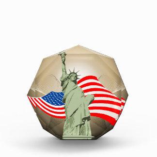 Statue of Liberty Acrylic Award