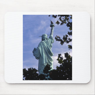 Statue of Liberty -Back View Mousepads