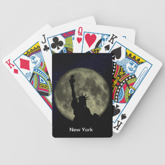 statue of liberty bicycle playing cards