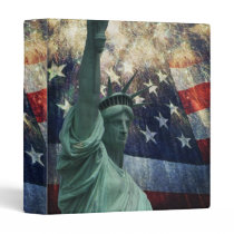 Statue of Liberty Binder