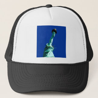 Statue of Liberty & Blue Sky Trucker Hat