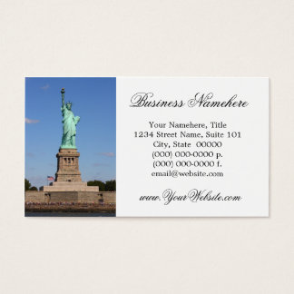 Statue of Liberty Business Cards