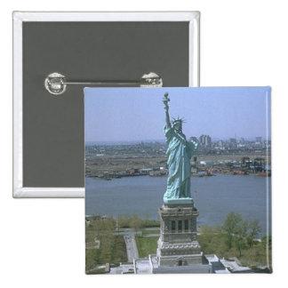 Statue of Liberty Pinback Button