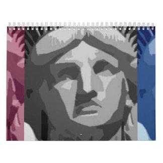 Statue of Liberty Wall Calendar