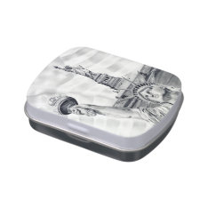 Statue Of Liberty Candy Tin/jar Jelly Belly Candy Tins at Zazzle