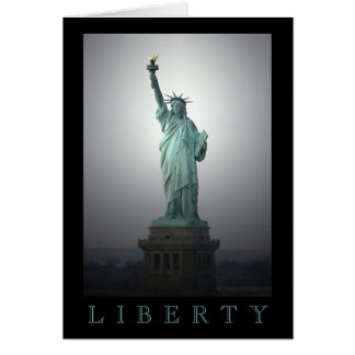 Statue of Liberty Stationery Note Card