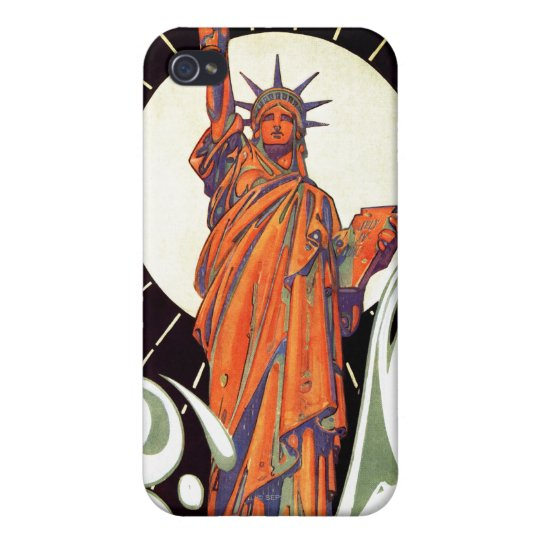 Statue of Liberty Case For iPhone 4