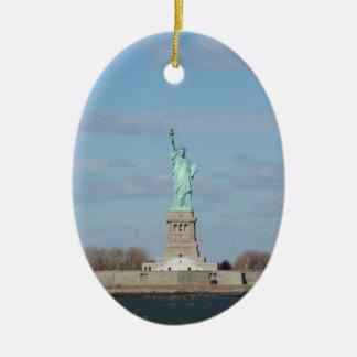 Statue Of Liberty Ceramic Ornament