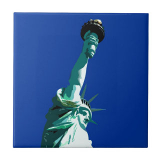 Statue of Liberty Ceramic Tile