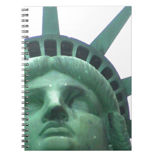Statue of Liberty Close Up Spiral Notebook