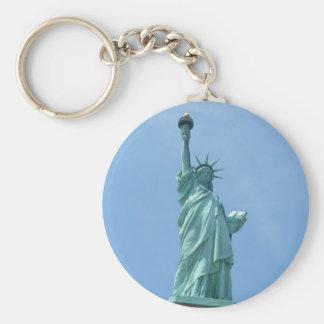 Statue of Liberty - Closeup Keychain
