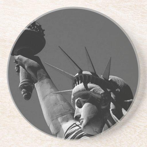 Statue of Liberty Beverage Coaster