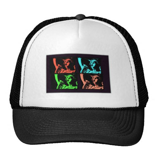 Statue of Liberty Collage Trucker Hat