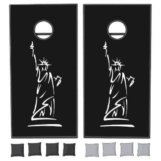 Statue of Liberty Cornhole Set
