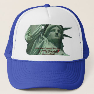 Statue of Liberty Crying Trucker Hat