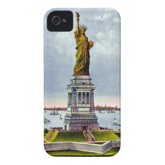 STATUE OF LIBERTY (Currier & Ives) ~ Case-Mate iPhone 4 Cases
