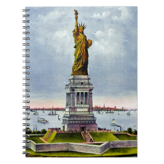 STATUE OF LIBERTY (Currier & Ives) ~ Note Book