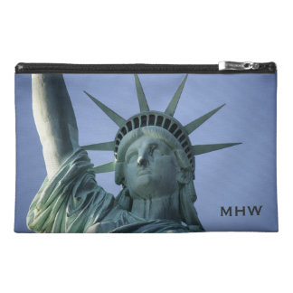Statue of Liberty custom monogram accessory bags