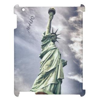 Statue of Liberty custom monogram device cases Case For The iPad