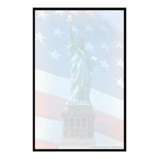 Statue of Liberty Custom Stationery