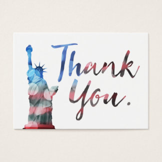 statue of liberty customer comment card