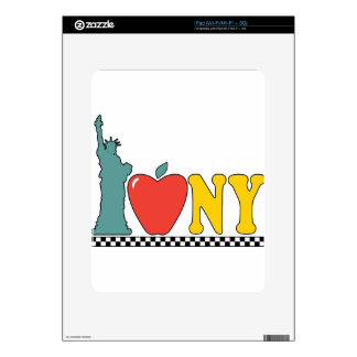 statue of liberty decals for iPad