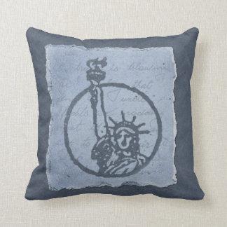 Statue of Liberty Decorative Pillow