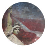 Statue of Liberty Dinner Plate Dinner Plate